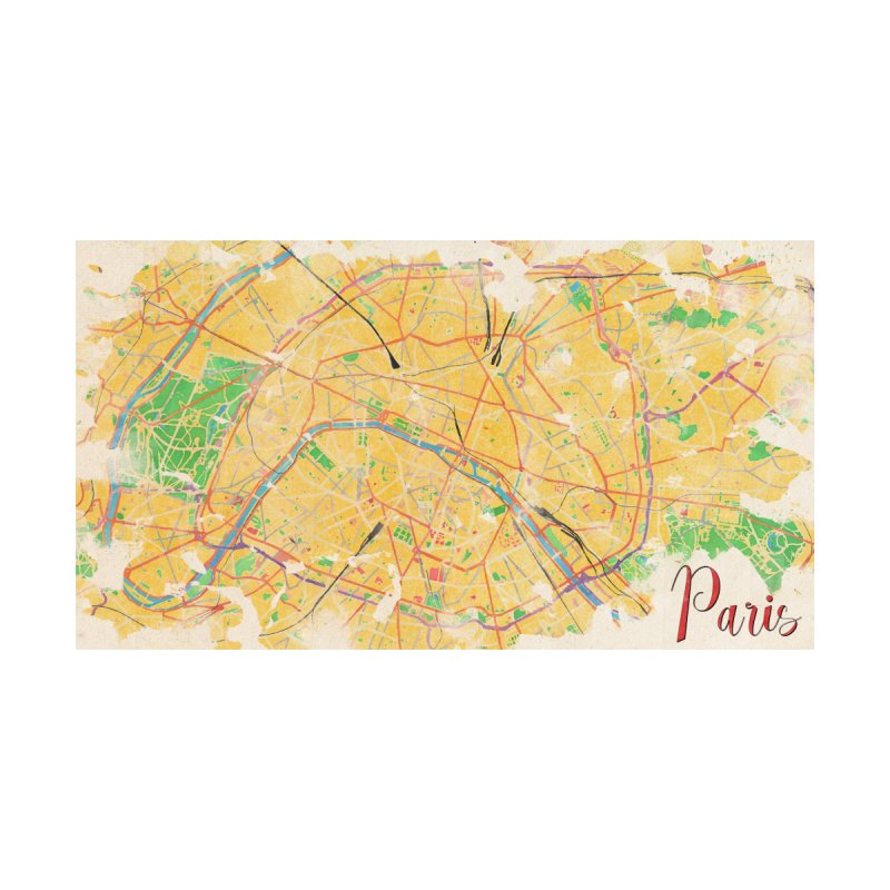 Another Paris Home Bath Mat by rouages's Artist Shop