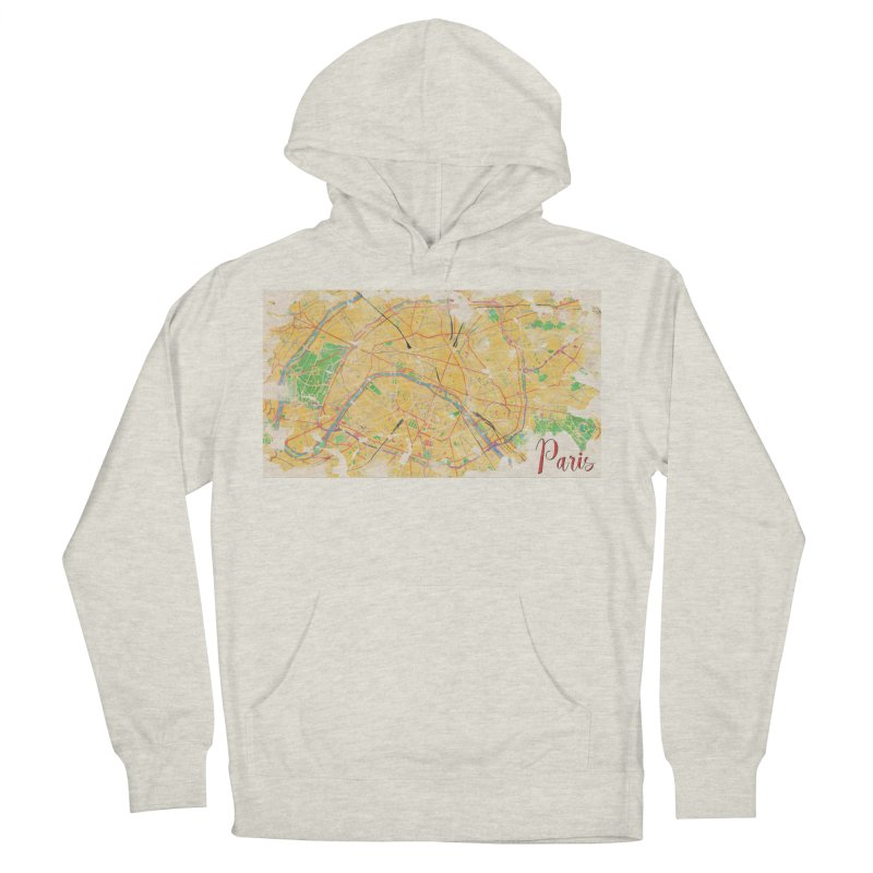 Another Paris Women's French Terry Pullover Hoody by rouages's Artist Shop