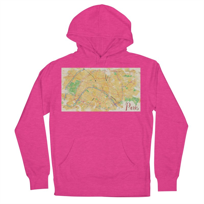 Another Paris Men's French Terry Pullover Hoody by rouages's Artist Shop