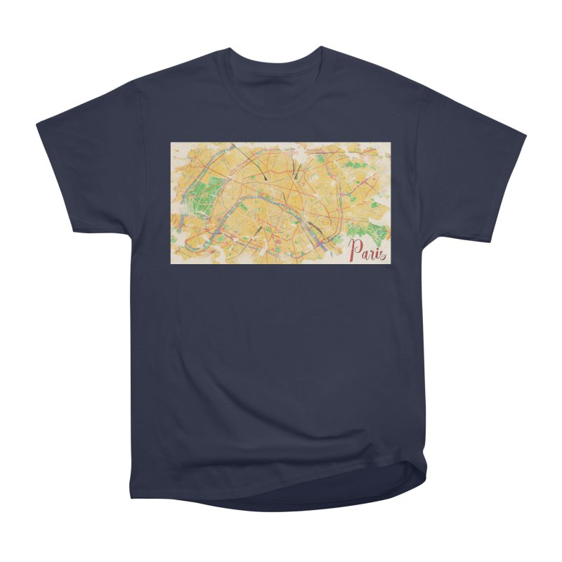 Another Paris Men's Heavyweight T-Shirt by rouages's Artist Shop