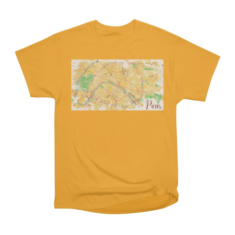 Another Paris Women's Heavyweight Unisex T-Shirt by rouages's Artist Shop