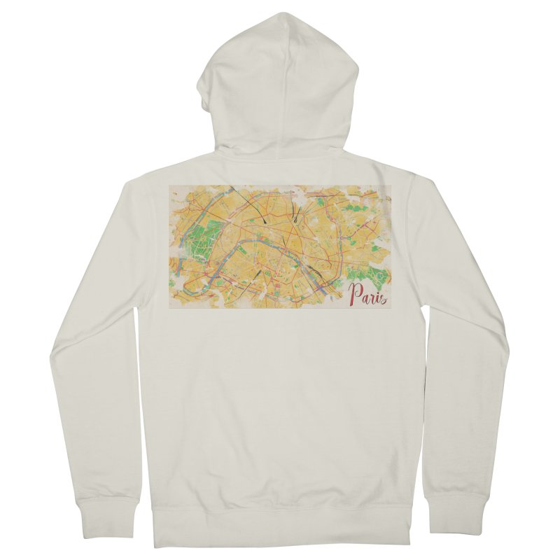 Another Paris Women's French Terry Zip-Up Hoody by rouages's Artist Shop