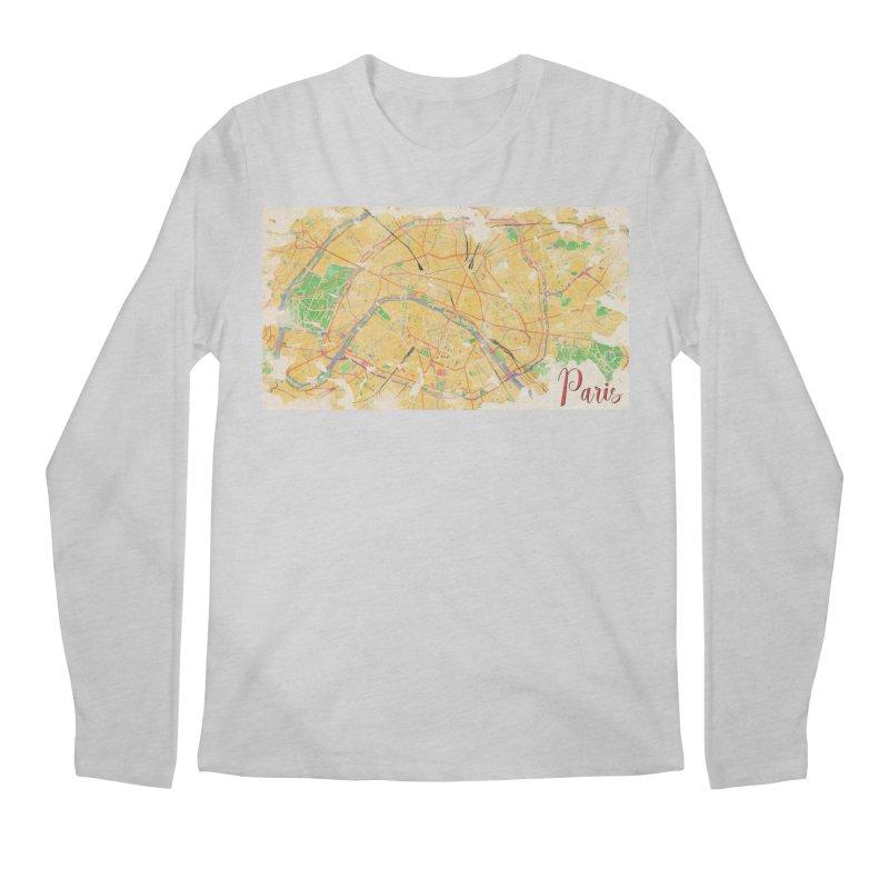 Another Paris Men's Regular Longsleeve T-Shirt by rouages's Artist Shop