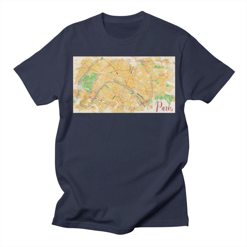 Another Paris Men's Regular T-Shirt by rouages's Artist Shop