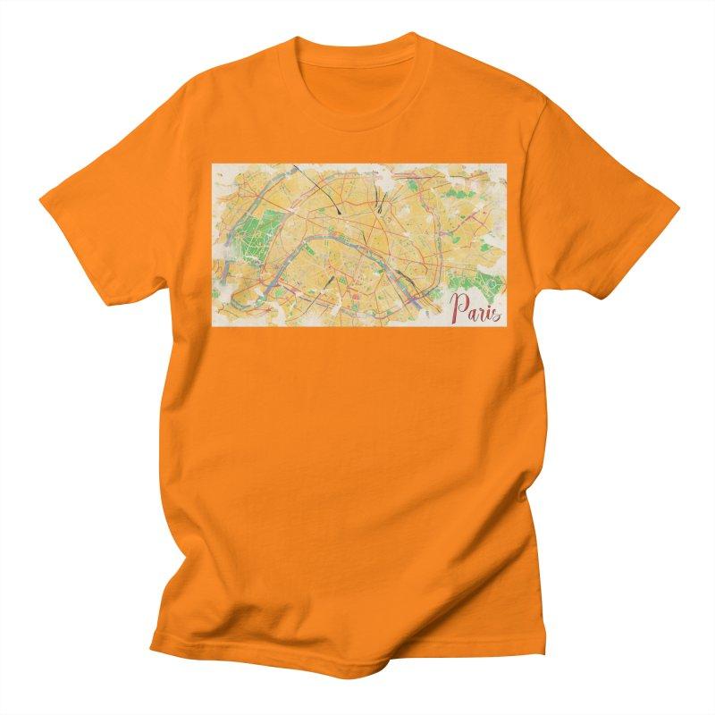 Another Paris Women's Regular Unisex T-Shirt by rouages's Artist Shop