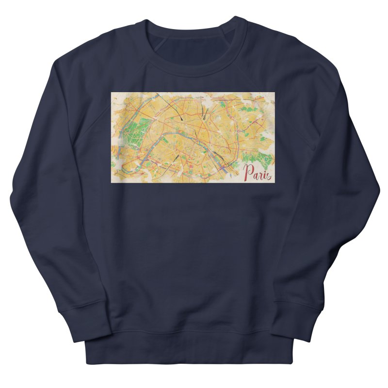Another Paris Women's French Terry Sweatshirt by rouages's Artist Shop
