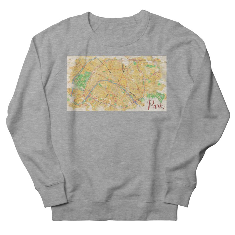 Another Paris Men's French Terry Sweatshirt by rouages's Artist Shop