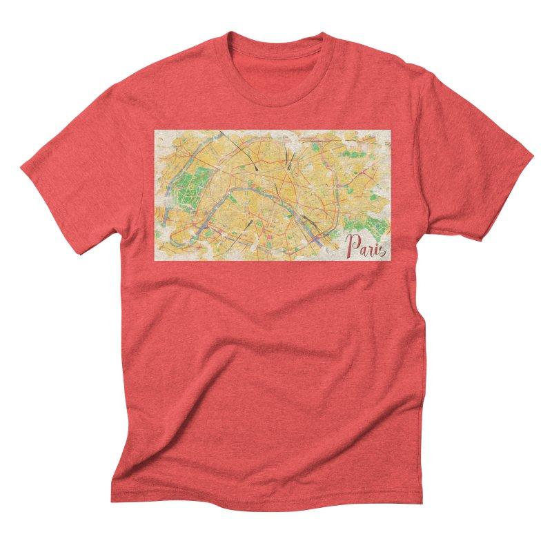 Another Paris Men's Triblend T-Shirt by rouages's Artist Shop