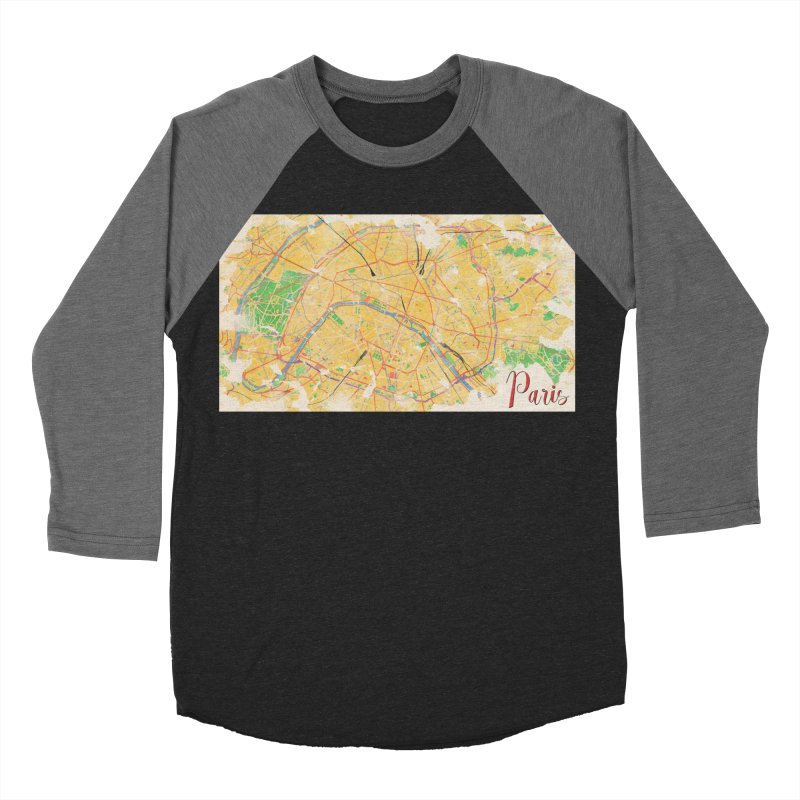 Another Paris Women's Baseball Triblend Longsleeve T-Shirt by rouages's Artist Shop