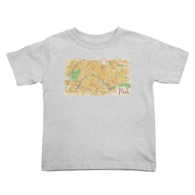 Another Paris Kids Toddler T-Shirt by rouages's Artist Shop