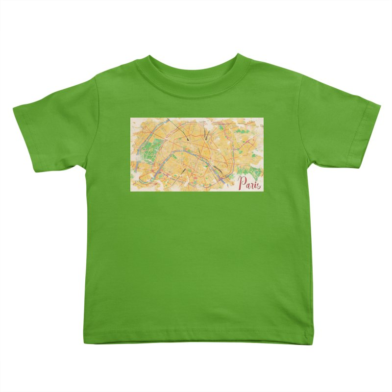 Another Paris Kids Toddler T-Shirt by rouages's Artist Shop