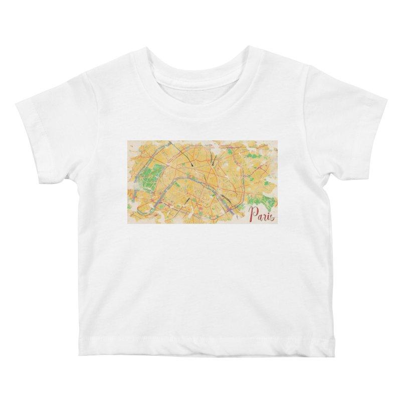 Another Paris Kids Baby T-Shirt by rouages's Artist Shop
