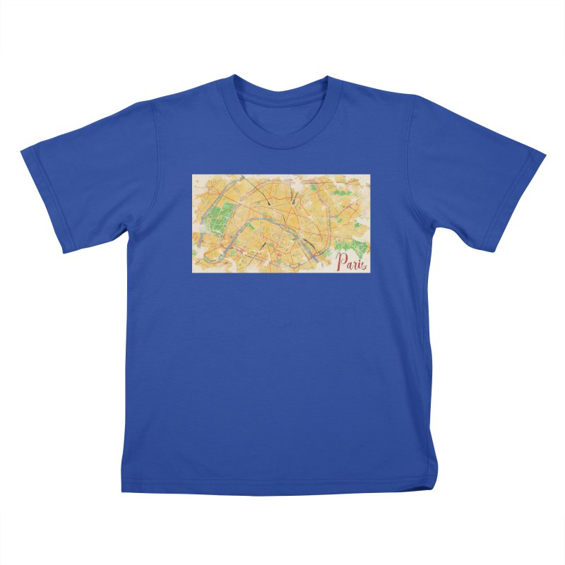 Another Paris Kids T-Shirt by rouages's Artist Shop