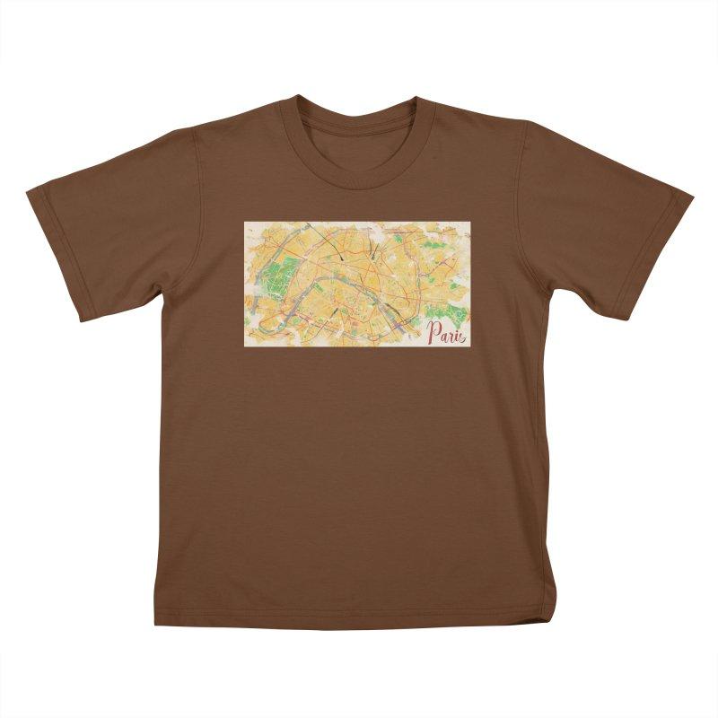 Another Paris Kids T-Shirt by rouages's Artist Shop
