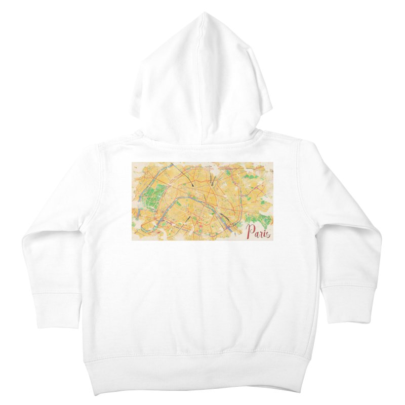 Another Paris Kids Toddler Zip-Up Hoody by rouages's Artist Shop