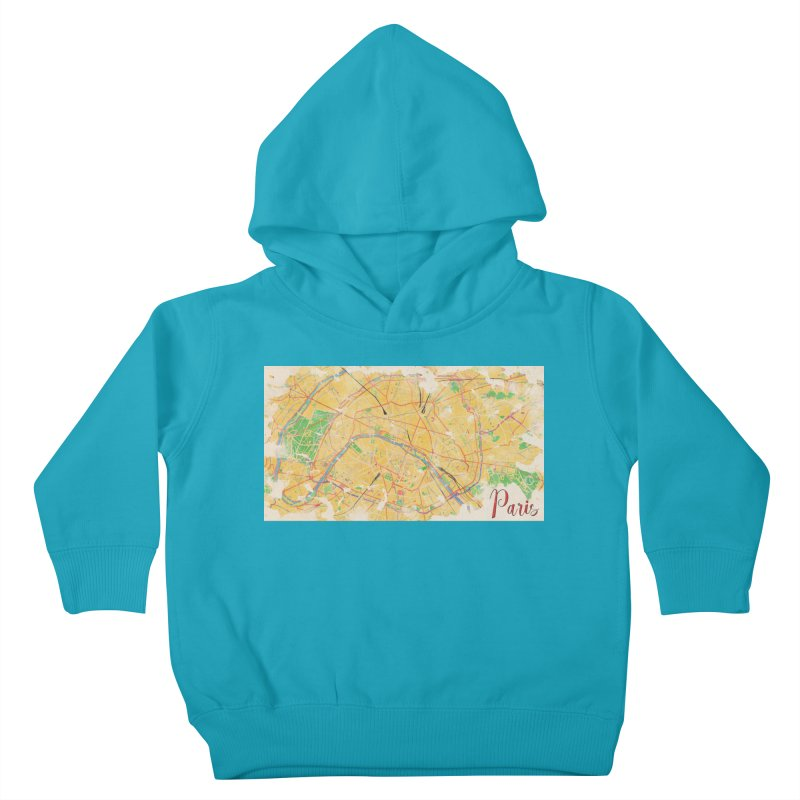 Another Paris Kids Toddler Pullover Hoody by rouages's Artist Shop