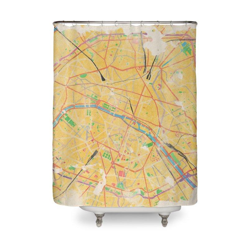Another Paris Home Shower Curtain by rouages's Artist Shop