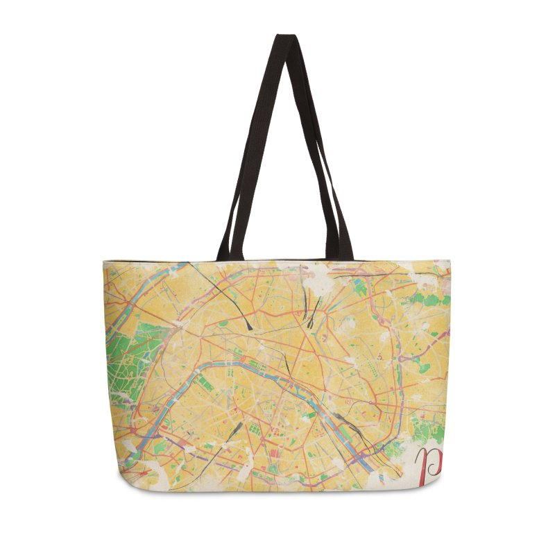 Another Paris Accessories Weekender Bag Bag by rouages's Artist Shop