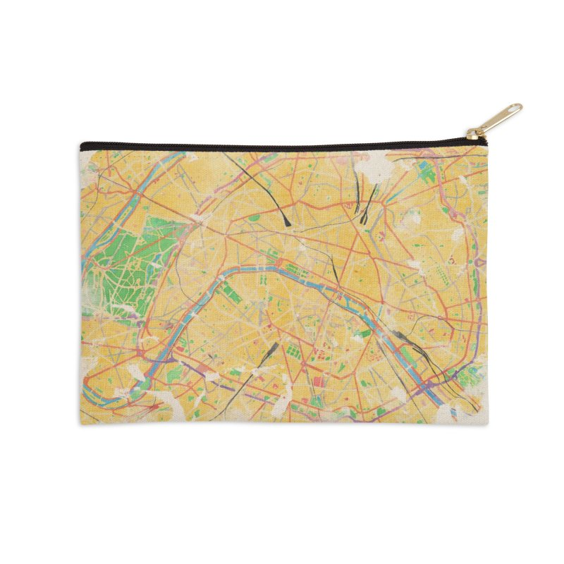 Another Paris Accessories Zip Pouch by rouages's Artist Shop