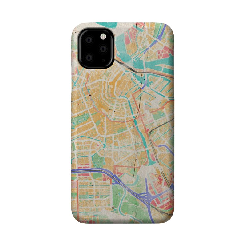Amsterdam in Watercolor Accessories Phone Case by rouages's Artist Shop