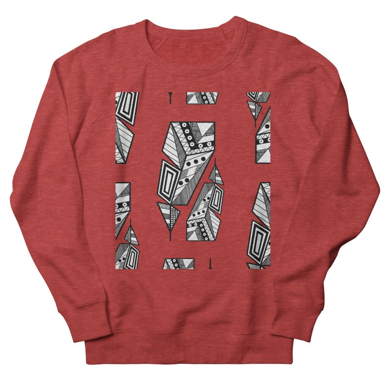 Reflection Men's French Terry Sweatshirt by rouages's Artist Shop