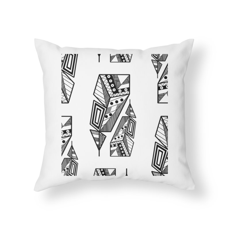 Reflection Home Throw Pillow by rouages's Artist Shop