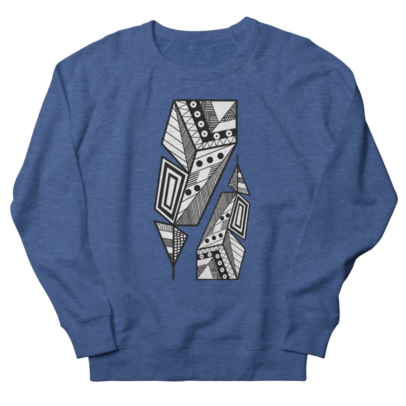 A single Feather Men's Sweatshirt by rouages's Artist Shop