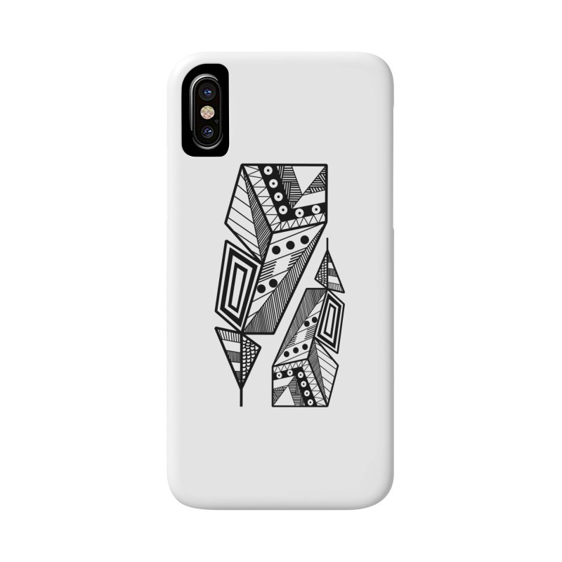 A single Feather Accessories Phone Case by rouages's Artist Shop