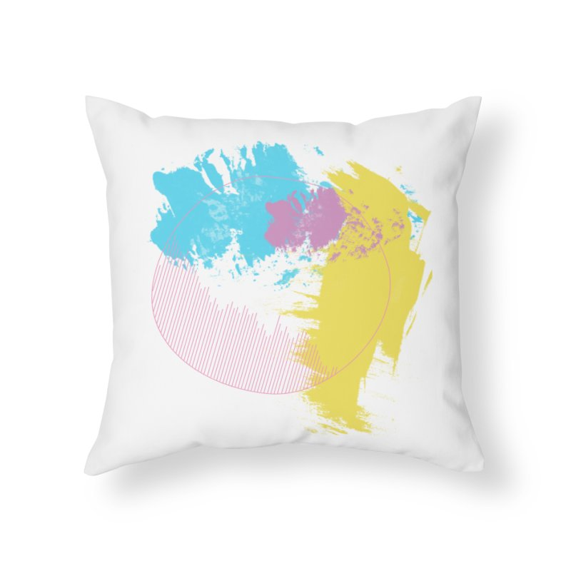 The Folly Home Throw Pillow by rouages's Artist Shop