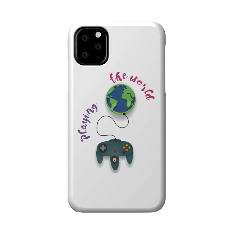 Playing the World Accessories Phone Case by rouages's Artist Shop