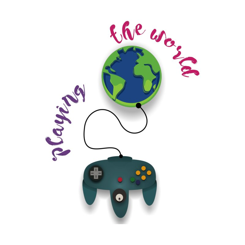 Playing the World   by rouages's Artist Shop