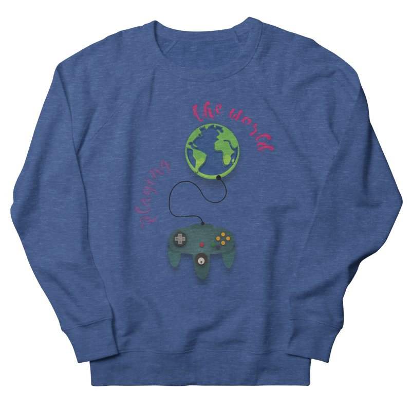 Playing the World Men's Sweatshirt by rouages's Artist Shop
