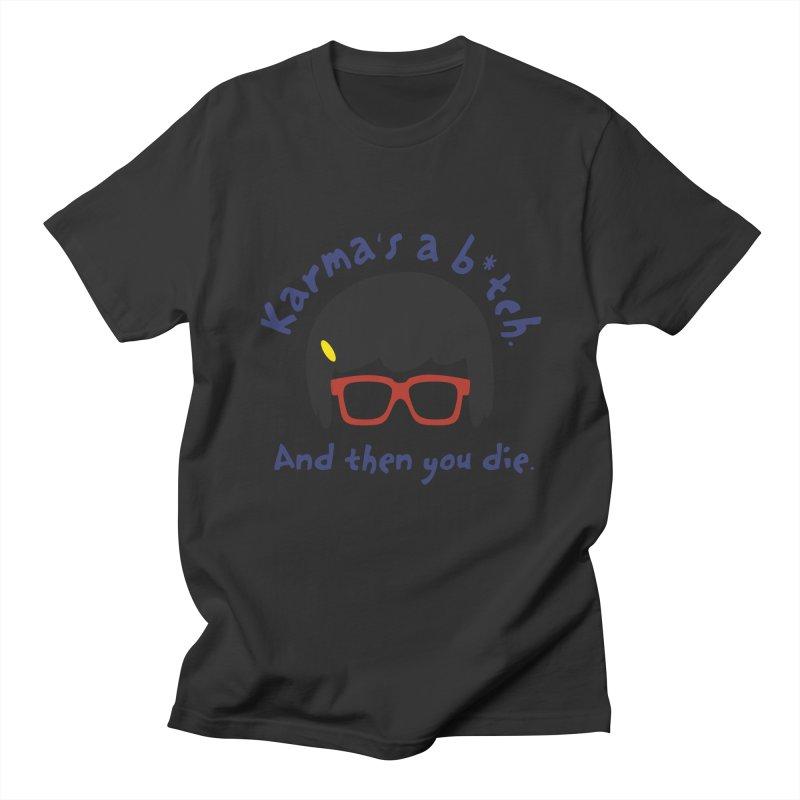According to Tina... Men's Regular T-Shirt by rouages's Artist Shop