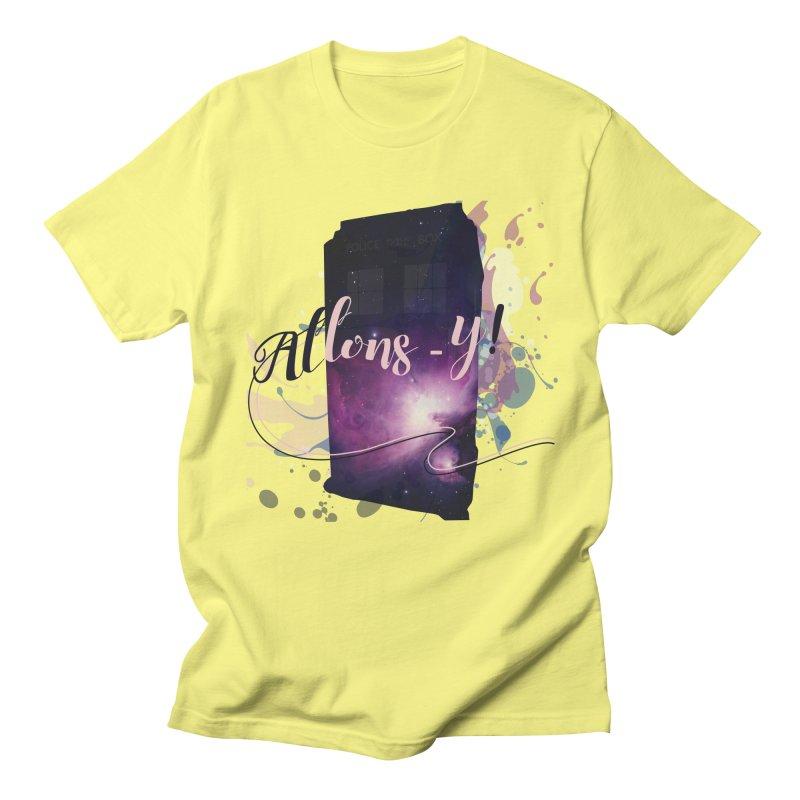 TARDIS' Allons-y! Women's Regular Unisex T-Shirt by rouages's Artist Shop