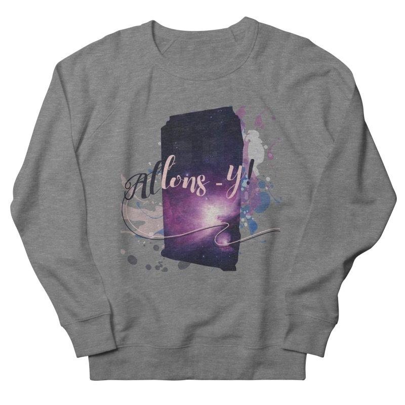 TARDIS' Allons-y! Men's Sweatshirt by rouages's Artist Shop