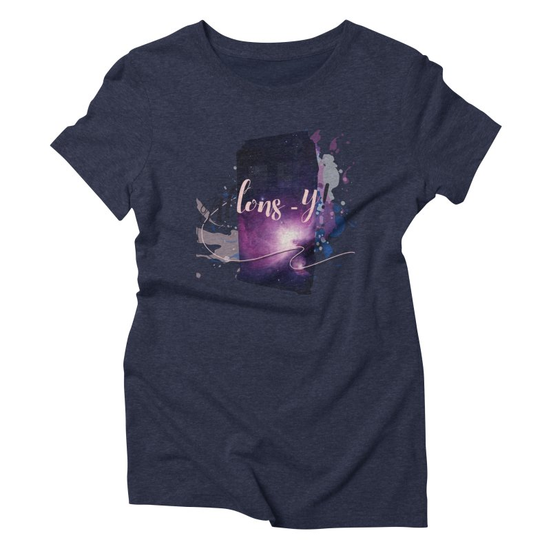 TARDIS' Allons-y! Women's Triblend T-Shirt by rouages's Artist Shop