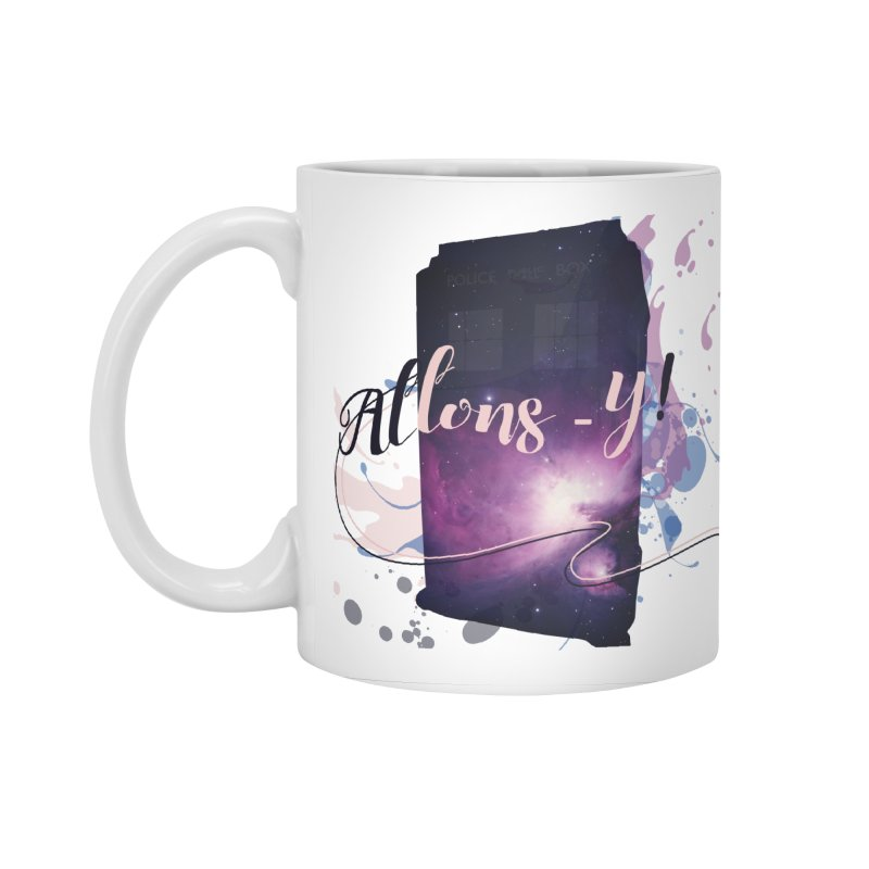 TARDIS' Allons-y! Accessories Standard Mug by rouages's Artist Shop
