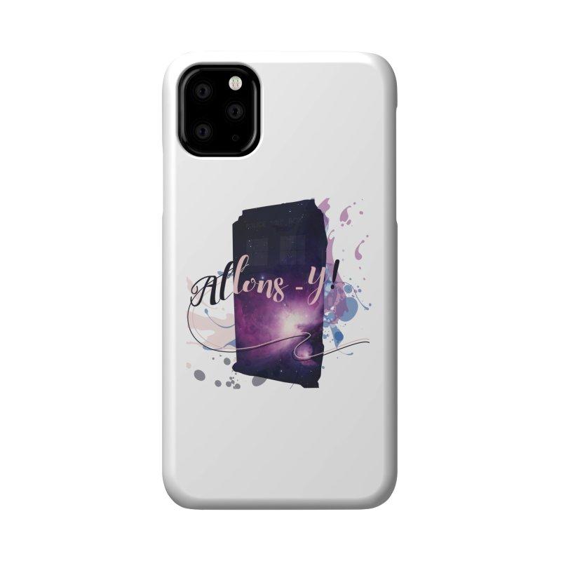 TARDIS' Allons-y! Accessories Phone Case by rouages's Artist Shop