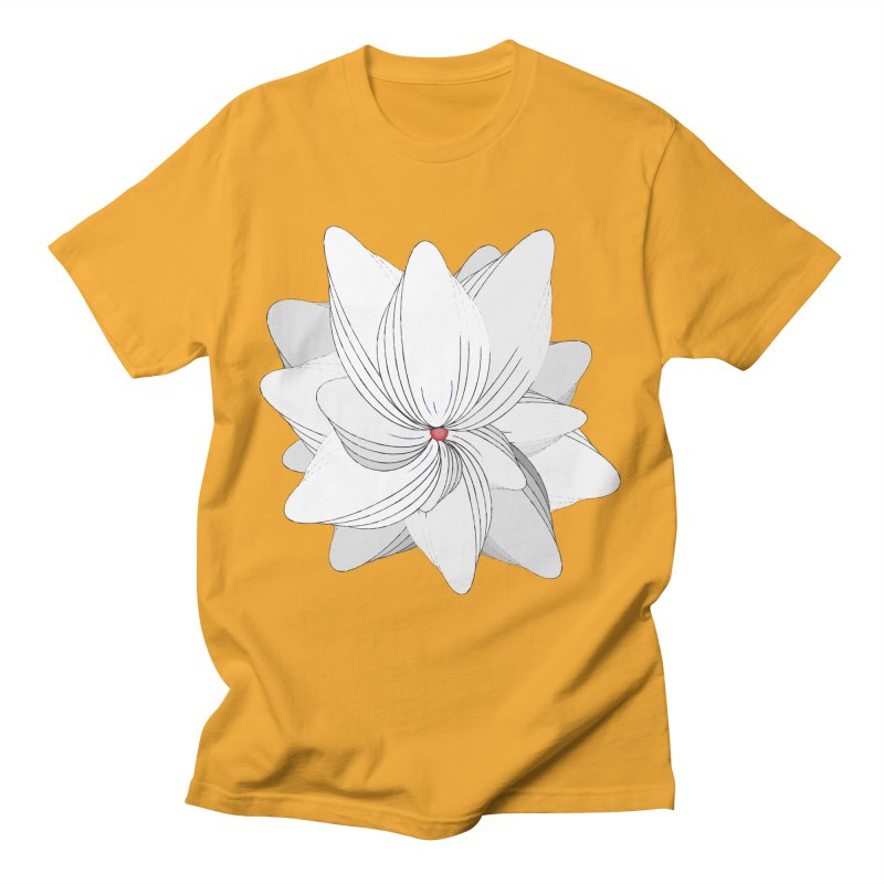 The Flower of my Heart Men's T-Shirt by rouages's Artist Shop