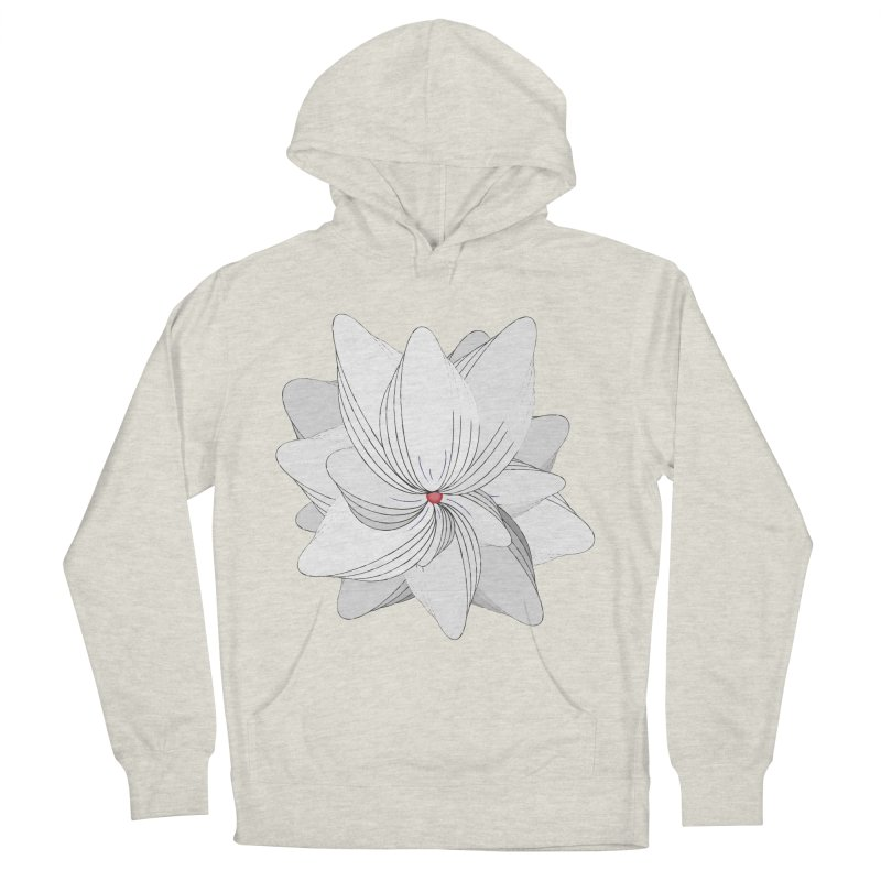 The Flower of my Heart Women's French Terry Pullover Hoody by rouages's Artist Shop