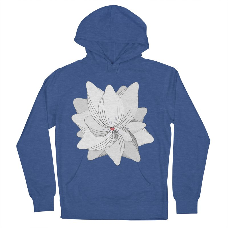 The Flower of my Heart Men's French Terry Pullover Hoody by rouages's Artist Shop