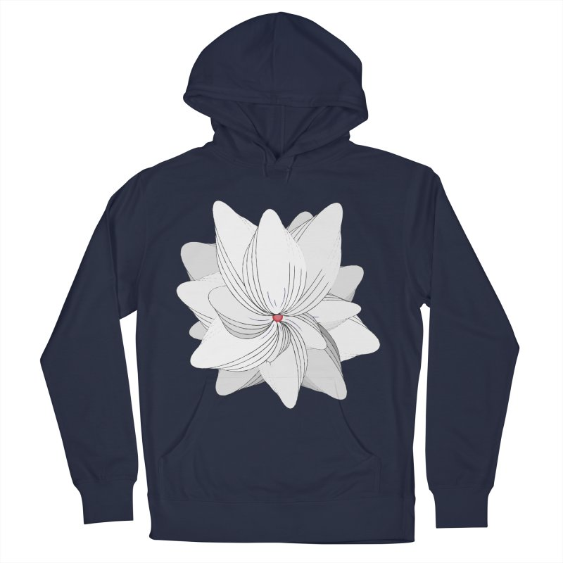 The Flower of my Heart Men's Pullover Hoody by rouages's Artist Shop