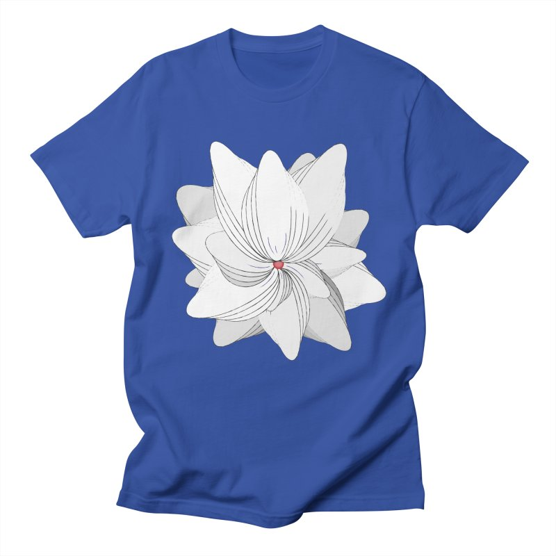 The Flower of my Heart Men's Regular T-Shirt by rouages's Artist Shop
