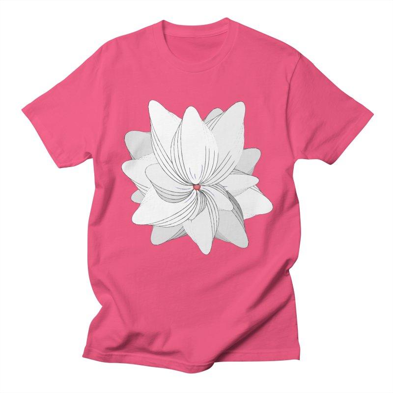 The Flower of my Heart Women's Regular Unisex T-Shirt by rouages's Artist Shop