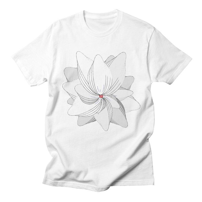 The Flower of my Heart Men's Regular T-Shirt by rouages's Artist Shop