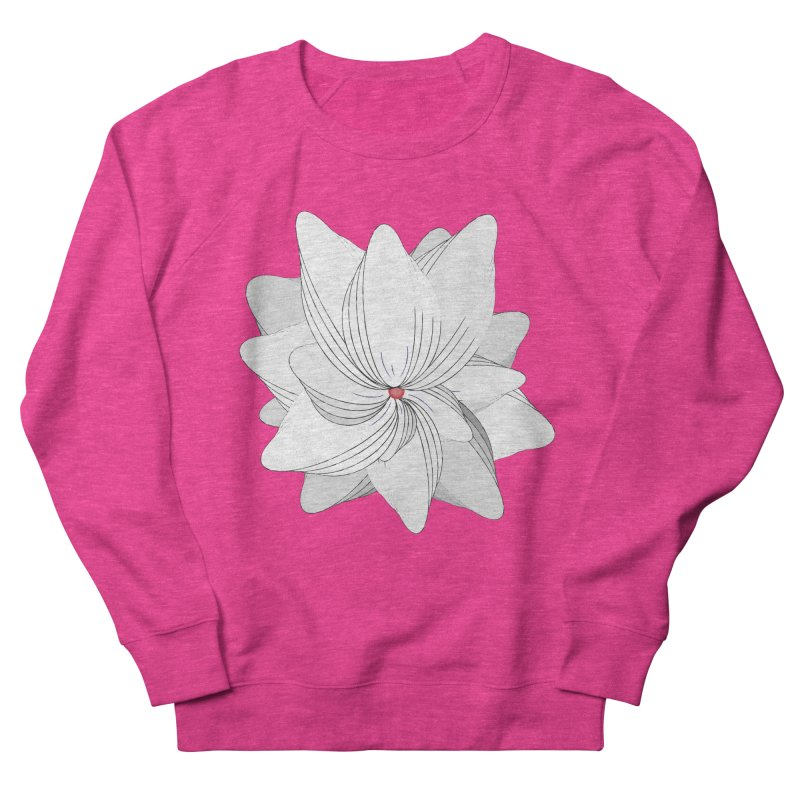 The Flower of my Heart Men's Sweatshirt by rouages's Artist Shop