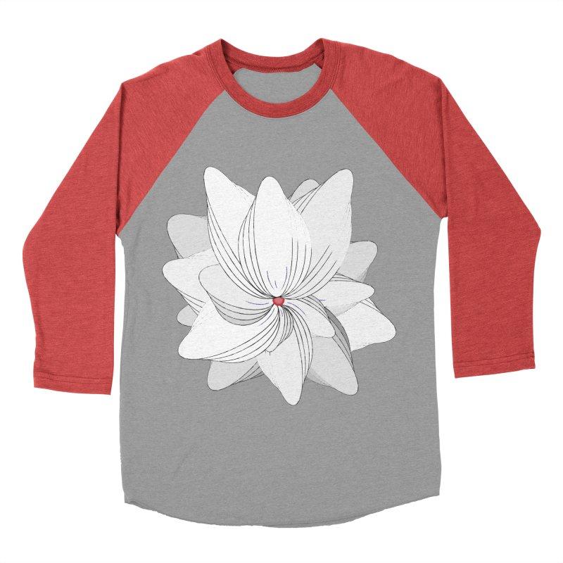 The Flower of my Heart Women's Baseball Triblend Longsleeve T-Shirt by rouages's Artist Shop