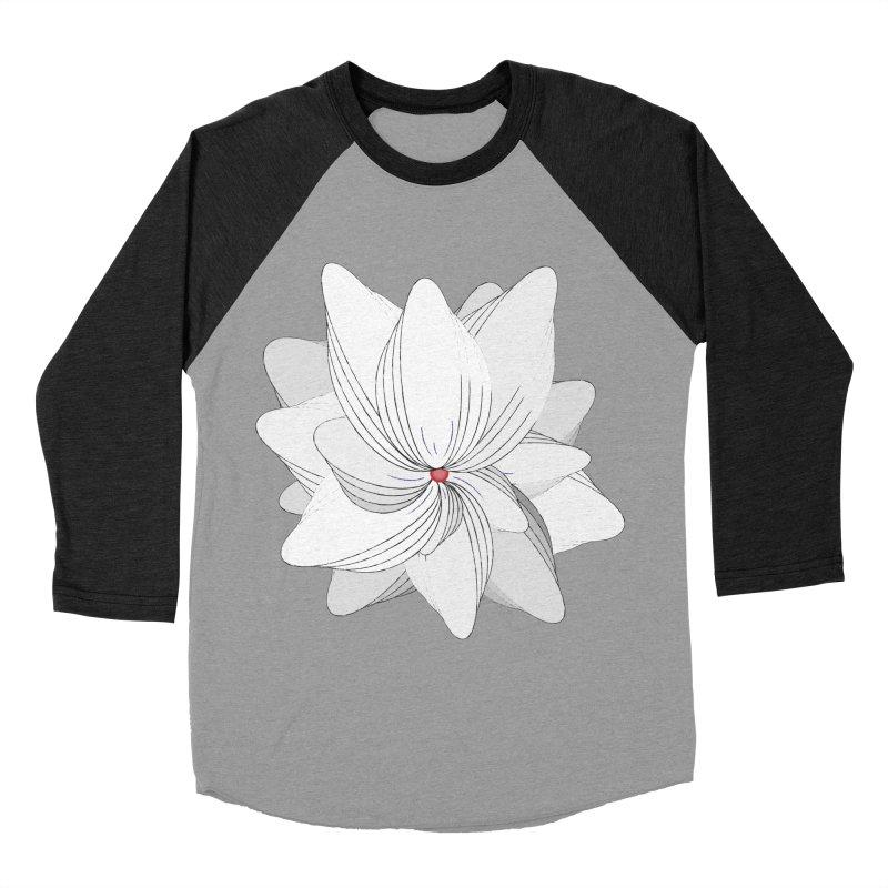 The Flower of my Heart Men's Baseball Triblend Longsleeve T-Shirt by rouages's Artist Shop
