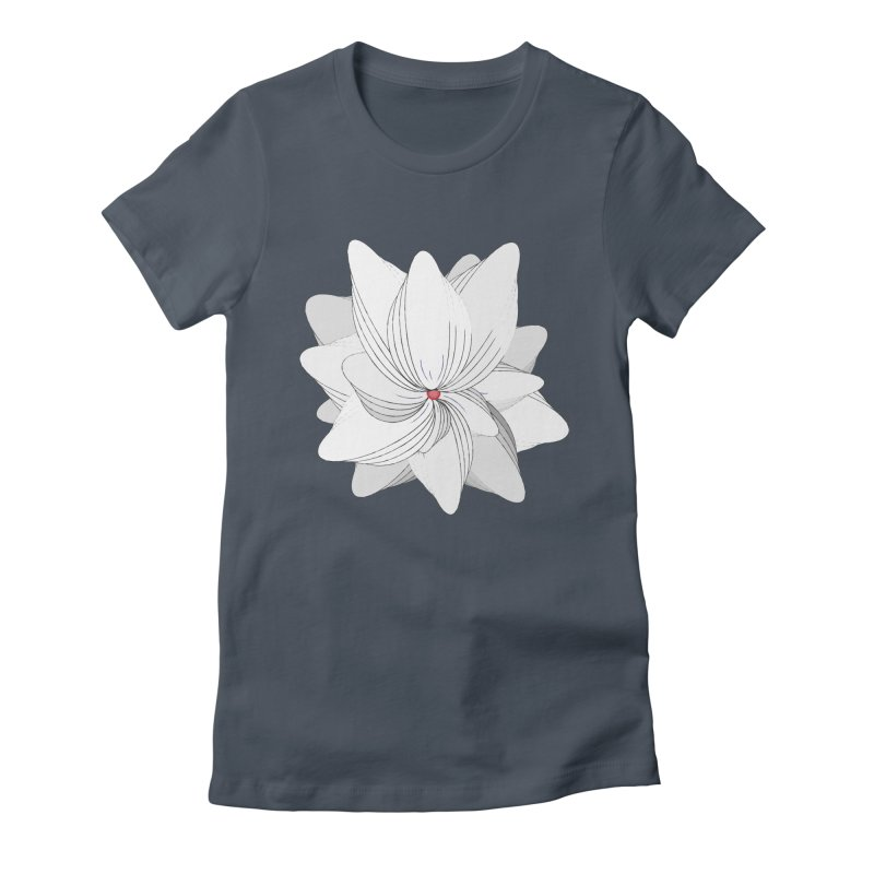 The Flower of my Heart Women's T-Shirt by rouages's Artist Shop