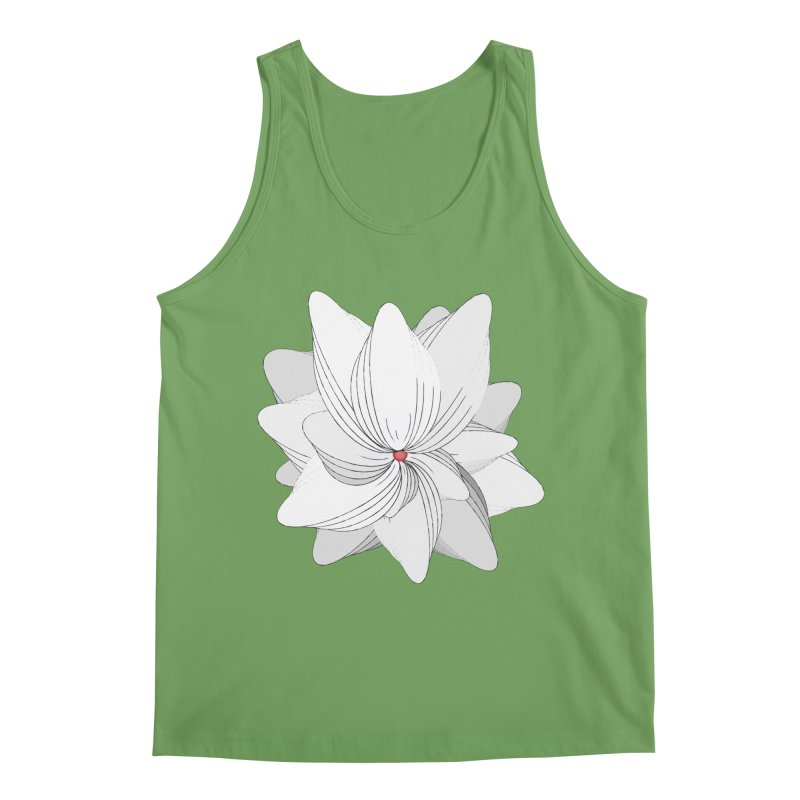 The Flower of my Heart Men's Tank by rouages's Artist Shop